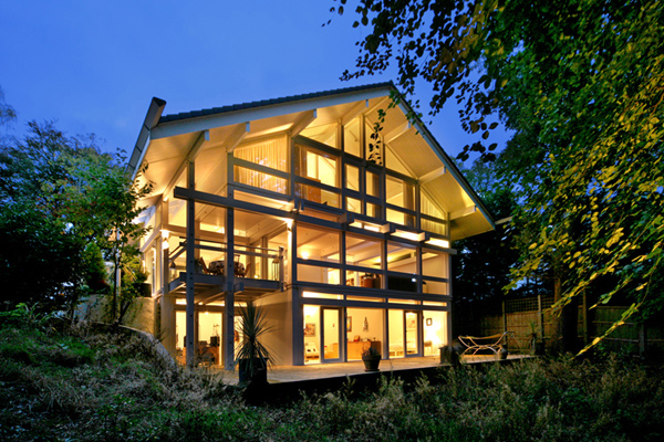 5/6 bed Huf Haus, Camberley, Surrey in 0.6 acre site « Huf ...